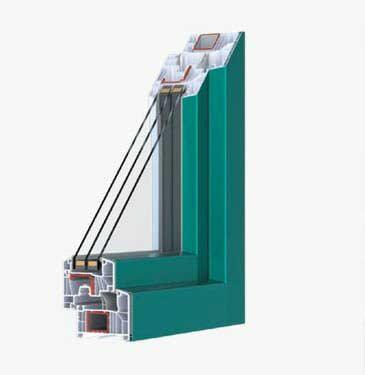 Serramento PVC 85 mm