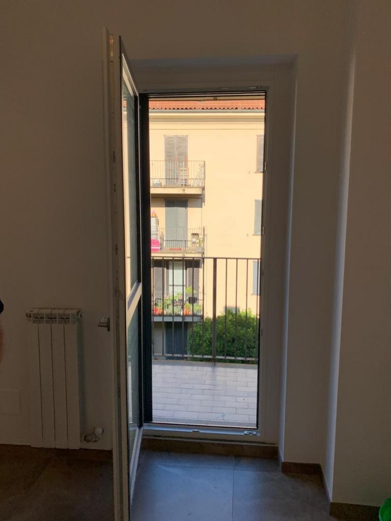 porta finestra pvc bicolore