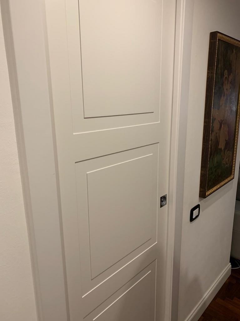 porte laccate bianco