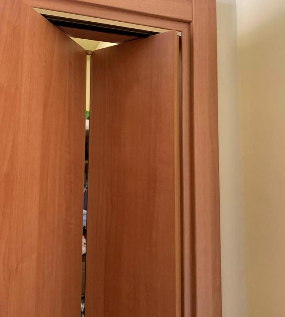porta interno pieghevole