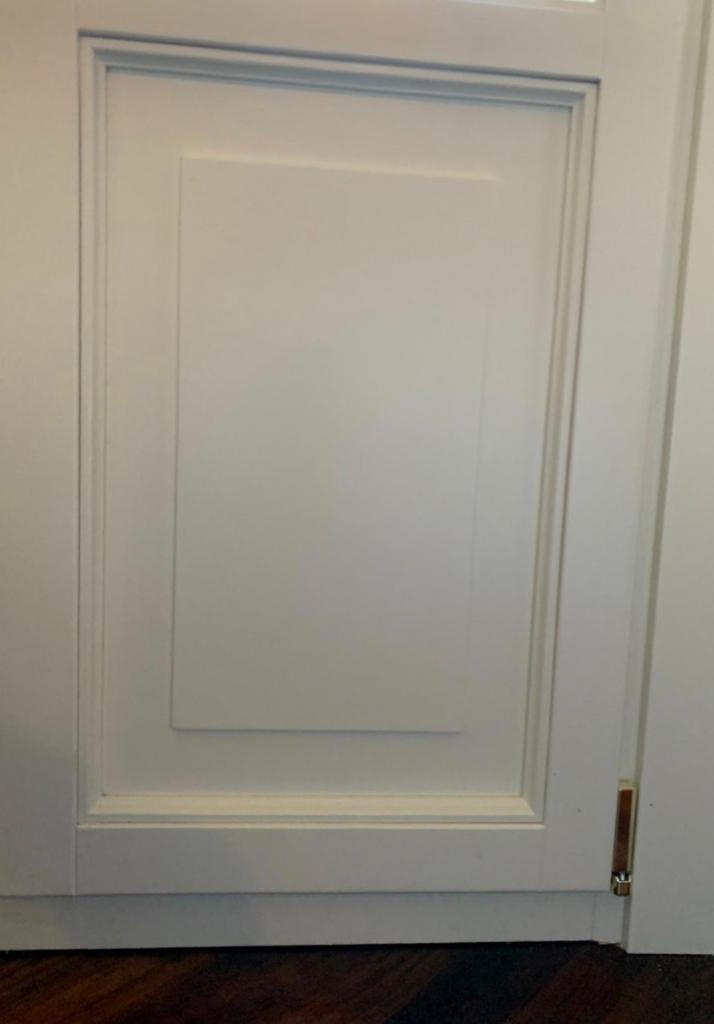 porta finestra pannello bugnato