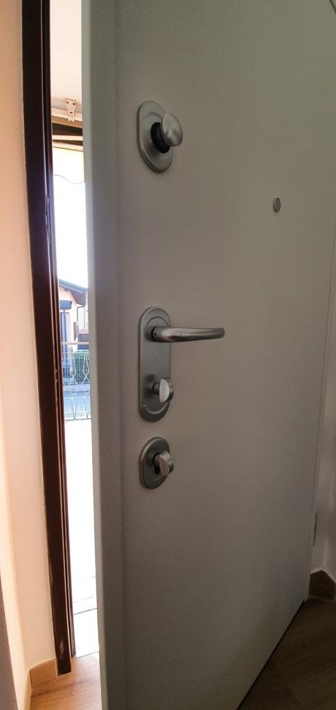porta blindata serratura