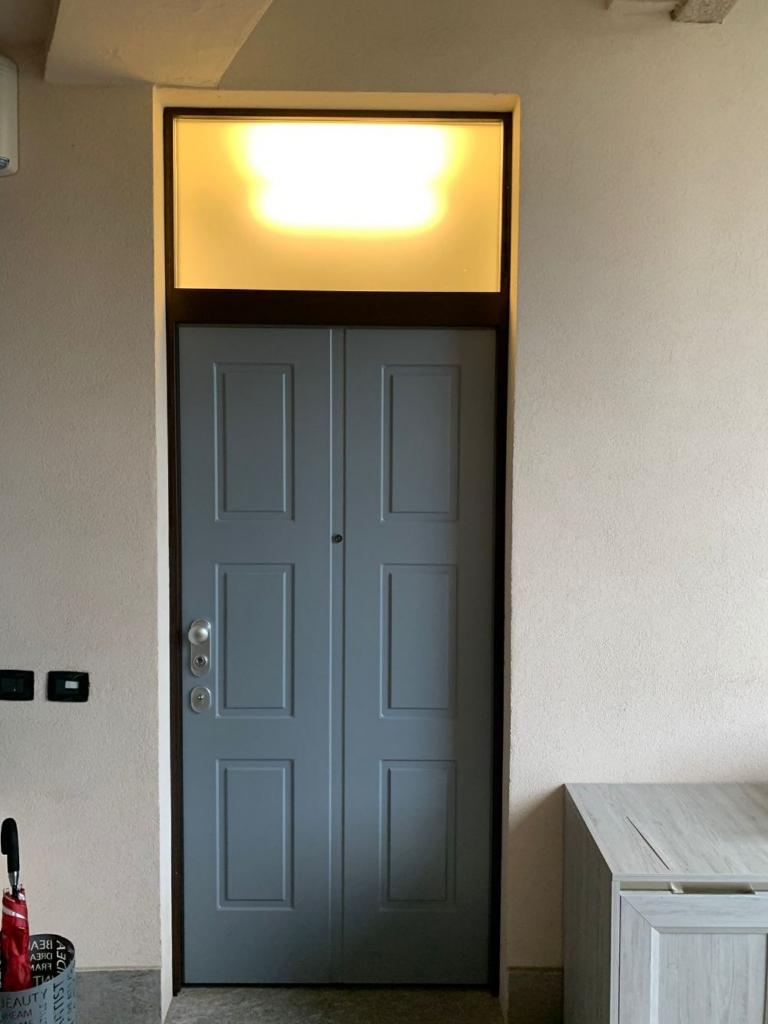 porta blindata pannello riquadri