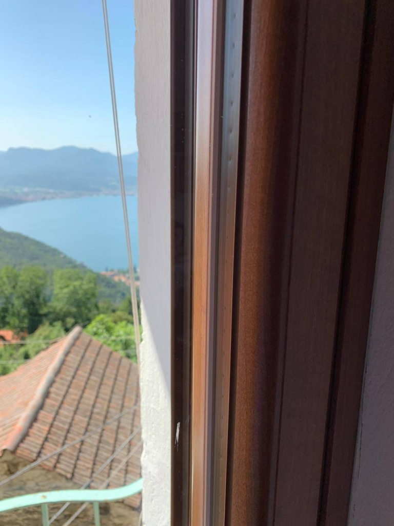 finestra ferma vetro
